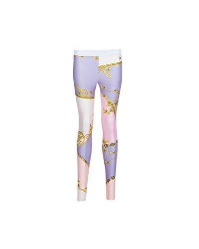 Леггинсы розовый Versace Collection