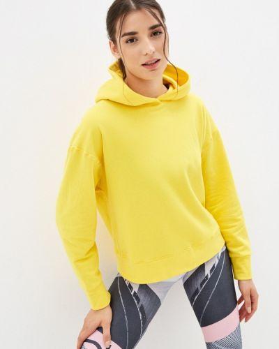 Желтая худи Emdi