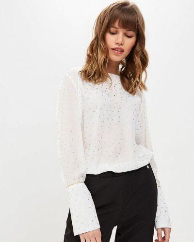 Белая блузка с длинным рукавом Sweewe