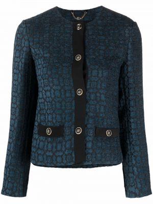 Синий пиджак на пуговицах Salvatore Ferragamo