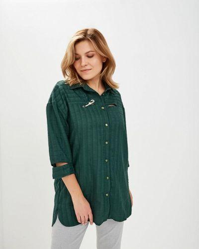 Зеленая рубашка с длинным рукавом Dream World