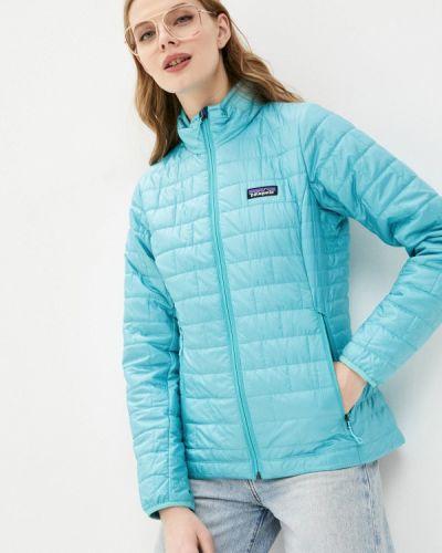 Бирюзовая утепленная куртка Patagonia