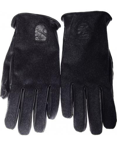 Перчатки шерстяные серые Roeckl Sports