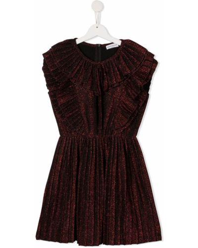 Прямое красное платье без рукавов Sonia Rykiel
