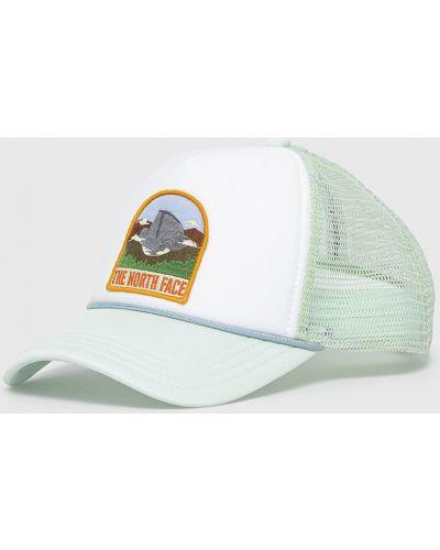 Zielony kapelusz materiałowy The North Face