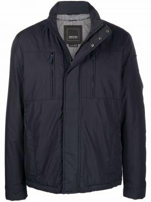 Длинная куртка - синяя Geox