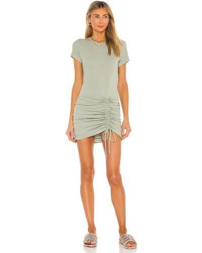 Sukienka mini w paski boho Minkpink