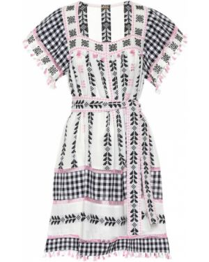 Платье мини с вышивкой для полных Dodo Bar Or