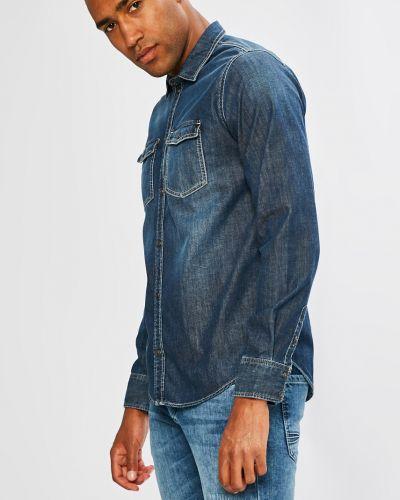 Джинсы классические с манжетами Pepe Jeans