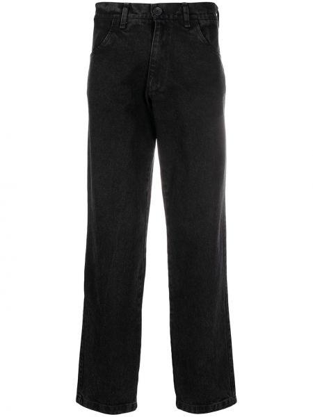 Bawełna bawełna czarny jeansy z kieszeniami Liberal Youth Ministry