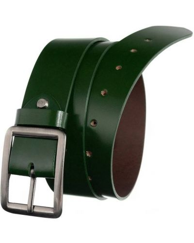Pasek srebrny - zielony Badura