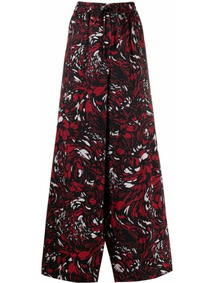 Черные брюки с полоской по бокам с карманами свободного кроя Pierre-louis Mascia