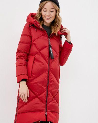 Красная зимняя куртка Aviù