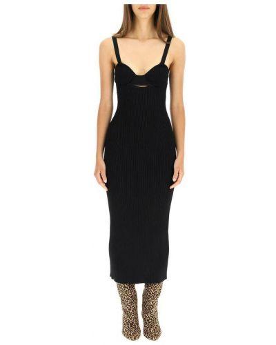 Czarna sukienka długa Magda Butrym