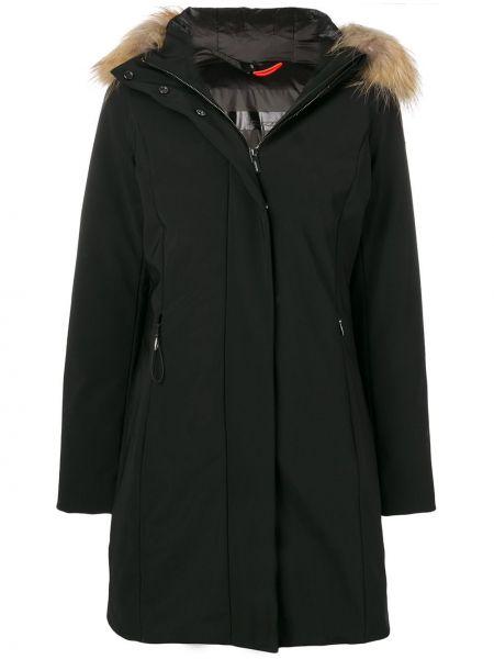Черная куртка из искусственного меха на молнии Rrd