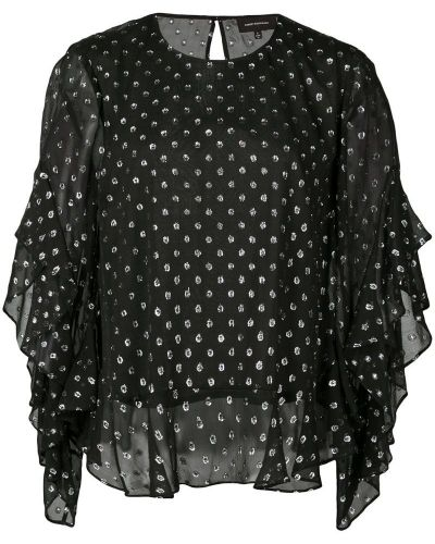Свободная блузка прозрачная Robert Rodriguez Studio