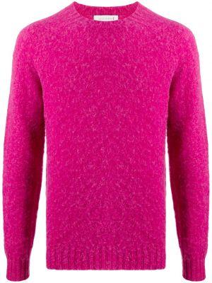 Джемпер с вырезом - розовый Mackintosh