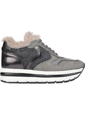 Текстильные кроссовки - серые Voile Blanche