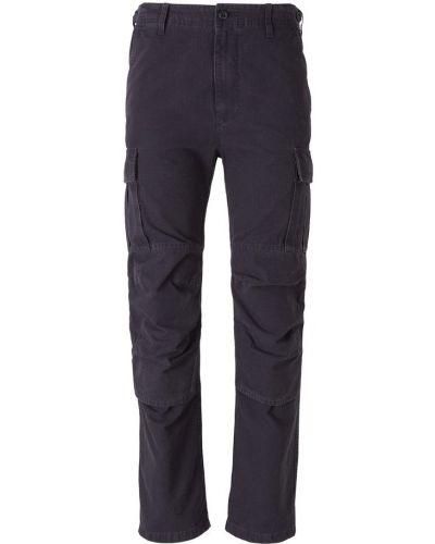 Czarne spodnie z haftem Balenciaga