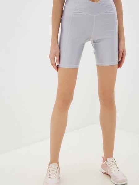 Серые спортивные шорты Reebok
