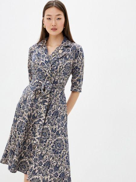 Платье платье-русалка прямое Silver Fish