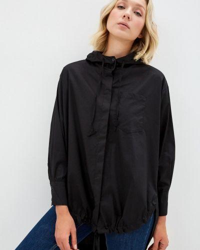 Блузка с длинными рукавами - черная Zabaione
