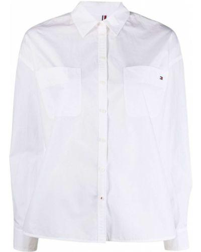 Klasyczna koszula, biały Tommy Hilfiger