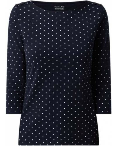 Niebieska bluzka bawełniana Christian Berg Women