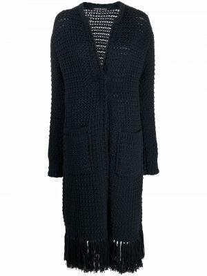 Длинное пальто - синее Antonino Valenti