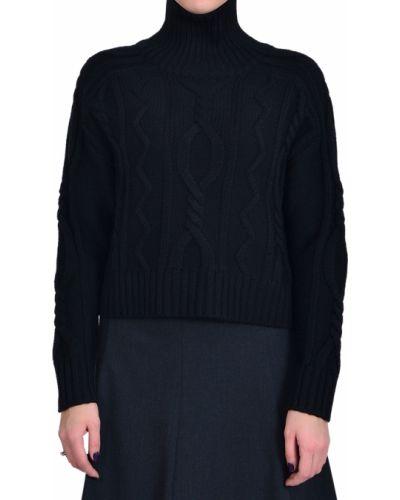 Шерстяной свитер - черный Iblues