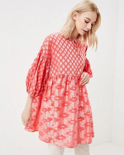 Розовая туника Glamorous