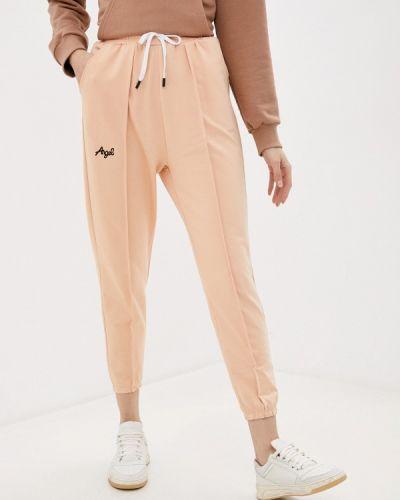 Оранжевые спортивные брюки Moki