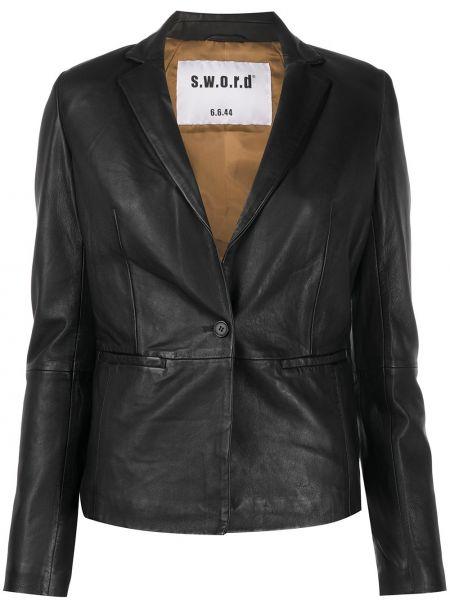 Черный пиджак S.w.o.r.d 6.6.44