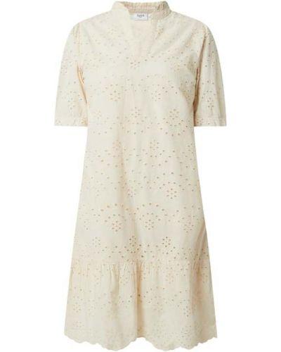 Sukienka koronkowa - biała Saint Tropez