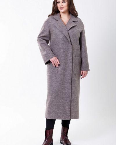 Серое пальто весеннее Sergio Cotti