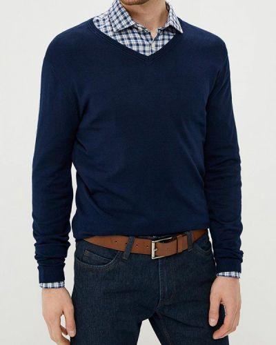 Синяя рубашка с длинным рукавом Ovs