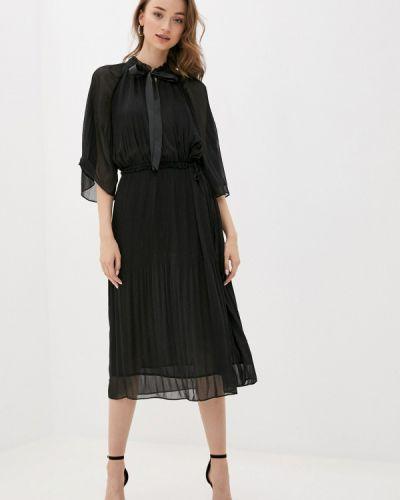 Прямое черное платье Twist & Tango