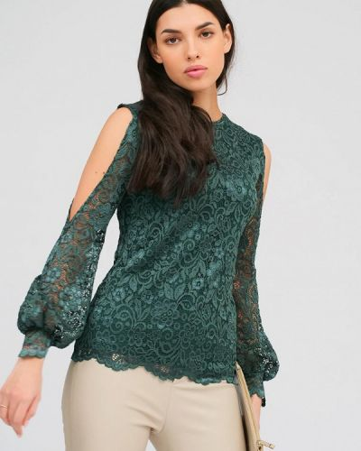 Зеленая блузка Lussotico