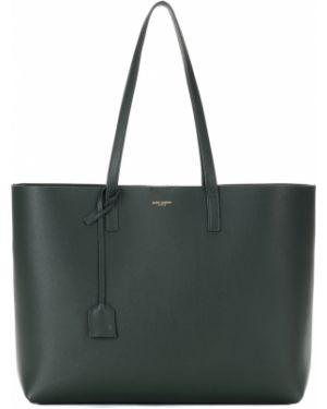 Кожаная сумка шоппер классическая Saint Laurent