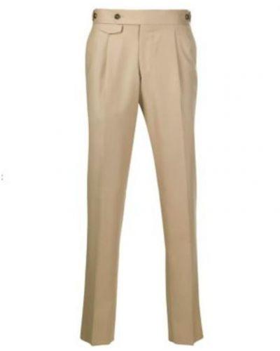 Beżowe spodnie Lardini
