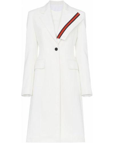 Белое пальто с капюшоном Calvin Klein 205w39nyc
