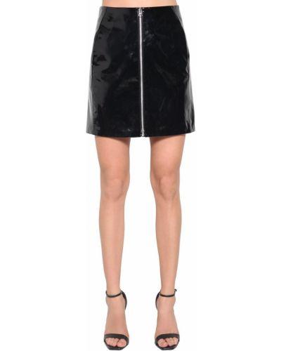 Кожаная юбка - черная Rag&bone
