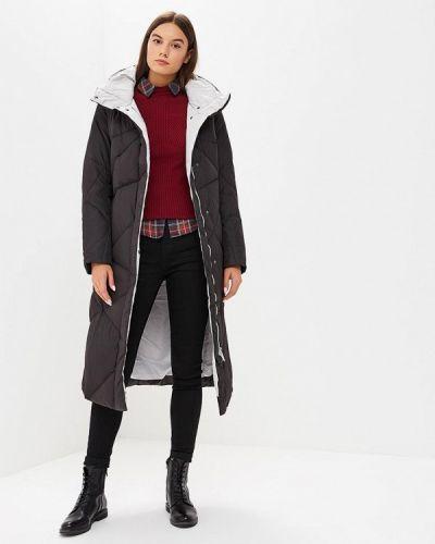 Зимняя куртка черная осенняя Snowimage