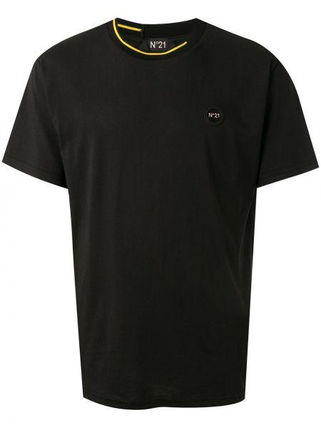 Koszula krótkie z krótkim rękawem z paskami z kołnierzem N°21