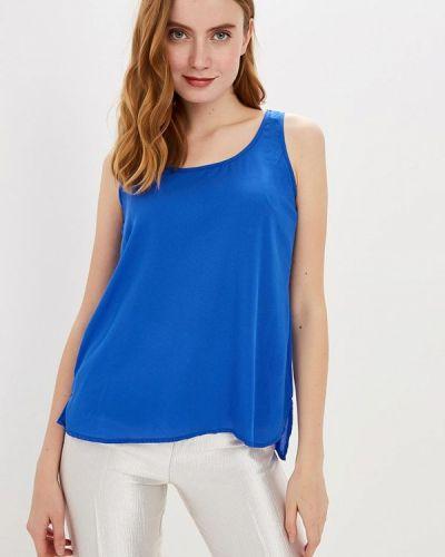 Блузка без рукавов синяя весенний Modis
