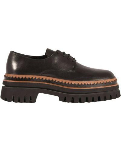 Loafers - czarne Elvio Zanon