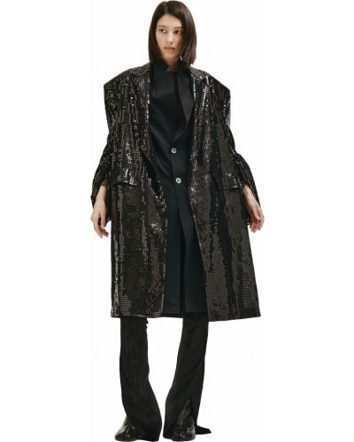 Пальто с пайетками Junya Watanabe