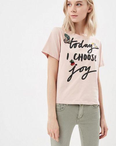 Розовая футболка Blue Oltre