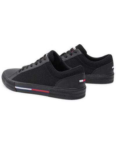 Czarne tenisówki Tommy Jeans