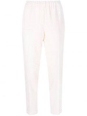 Белые укороченные брюки Antonelli
